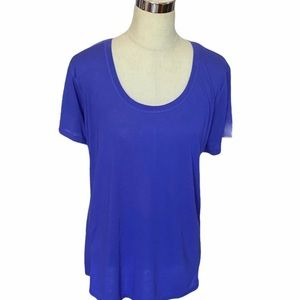 Energy Zone Rally Blue  Workout Top